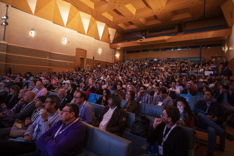 Público diverso y de todas las edades llenó el Palacio de Congresos para asistir al III Branding Day de Cádiz