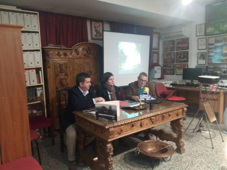 Momento de la intervención de Ildefonso Alcalá, presidente de Saudar