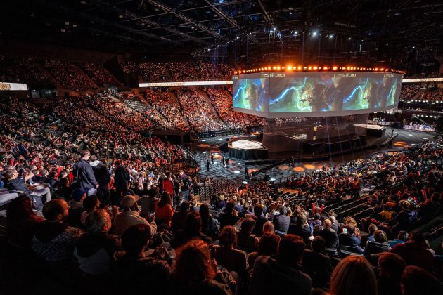 La final de los Worlds de League of Legends en París
