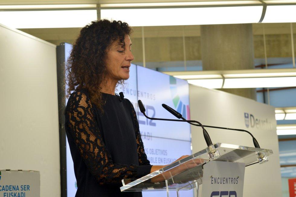 Eva Domaika, jefa de contenidos de la Cadena SER en Euskadi