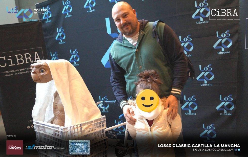 Las mejores imágenes de la proyección de 'E.T. El Extraterrestre' en Toledo