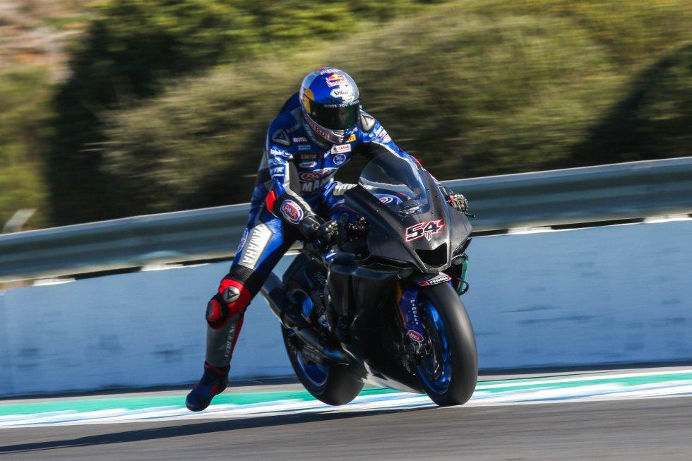 Entrenamientos Superbike en Jerez
