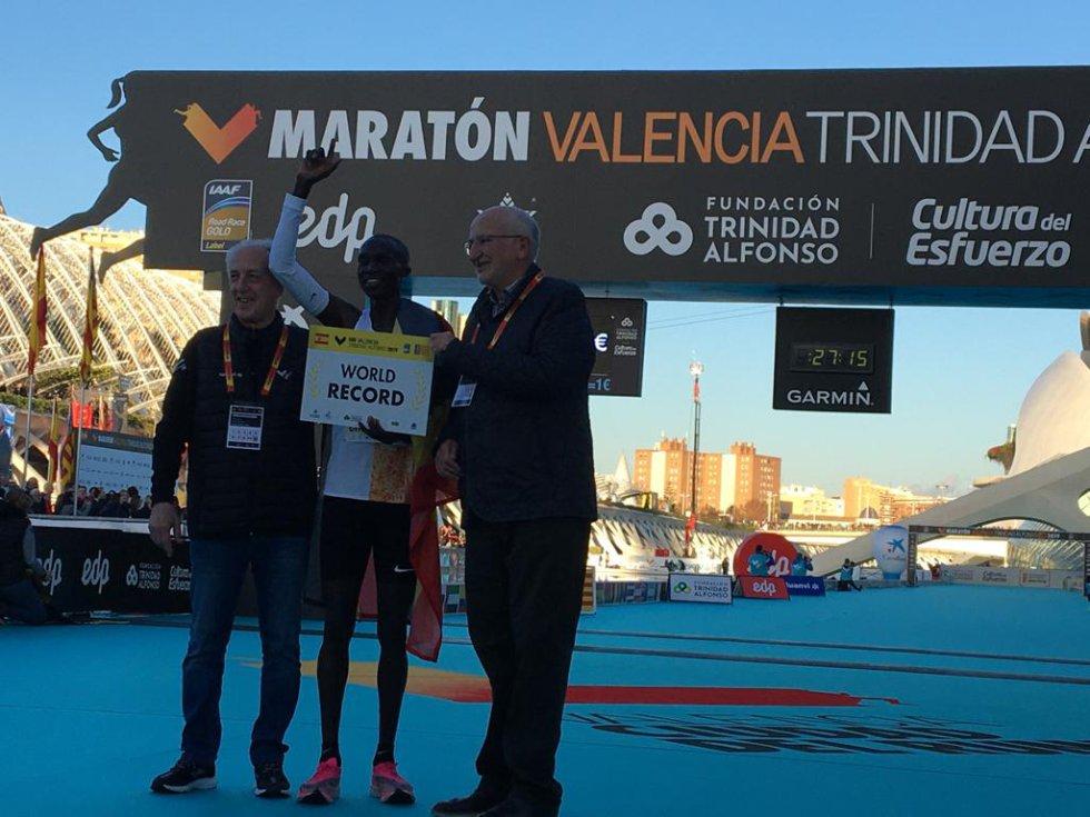 La de 2019 es la última edición de la carrera 10K que se celebra en València y han participado alrededor de 10.000 personas
