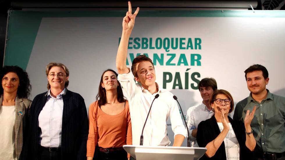10 de noviembre. Íñigo Errejón valora los resultados de Más País en las elecciones generales del noviembre, en las que consiguió tres escaños. Errejón emprendió un proyecto nacional después de dejar Podemos y de abandonar su puesto en la política madrileña.