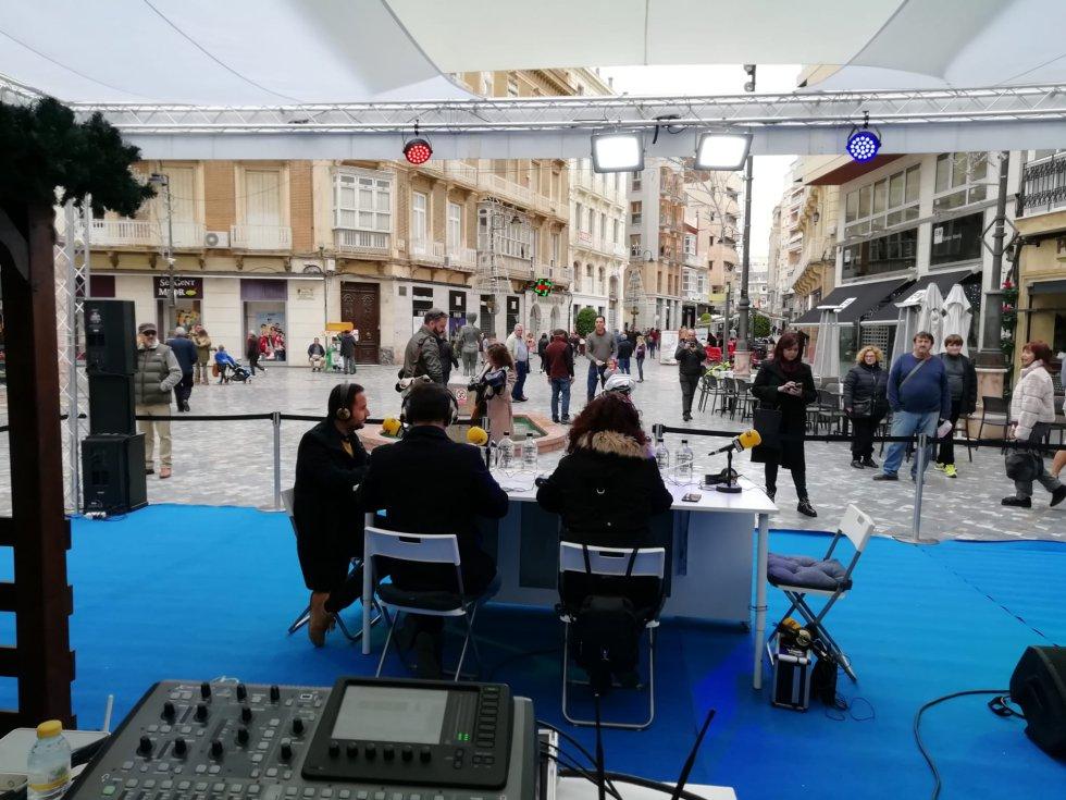 Entrevista con David Martínez Noguera, concejal del Área de Cultura del Ayuntamiento de Cartagena.