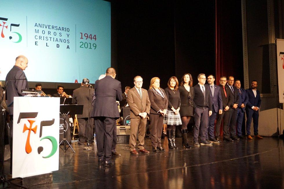 Elda clausura el 75 aniversario de los Moros y Cristianos