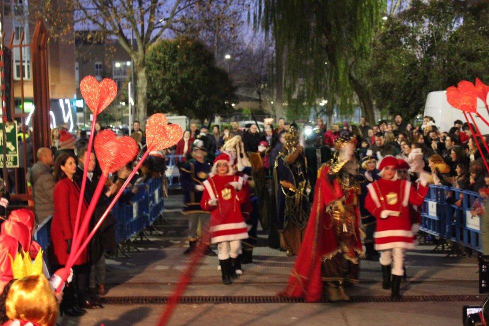 Las imágenes de los Reyes Magos en Albacete