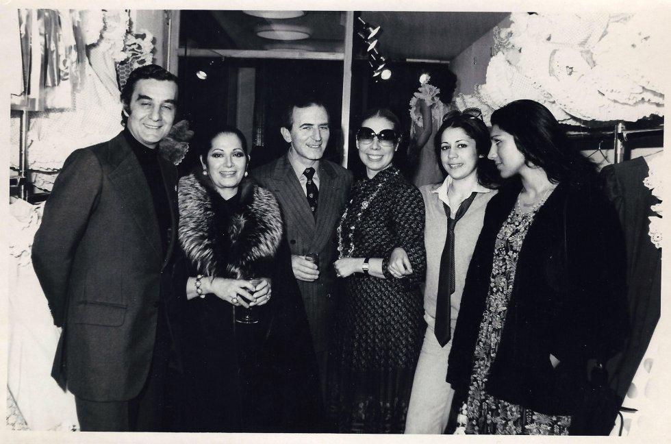 Inauguración de la tienda de la calle Lineros, en Sevilla, en 1979