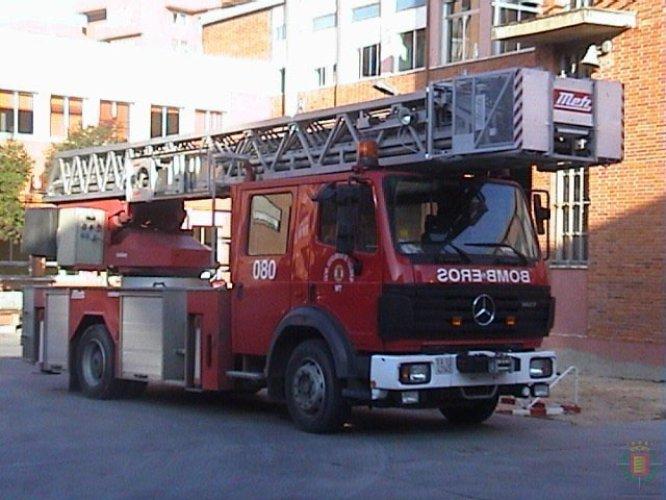 Camión con escala en una imagen tomada en 2003