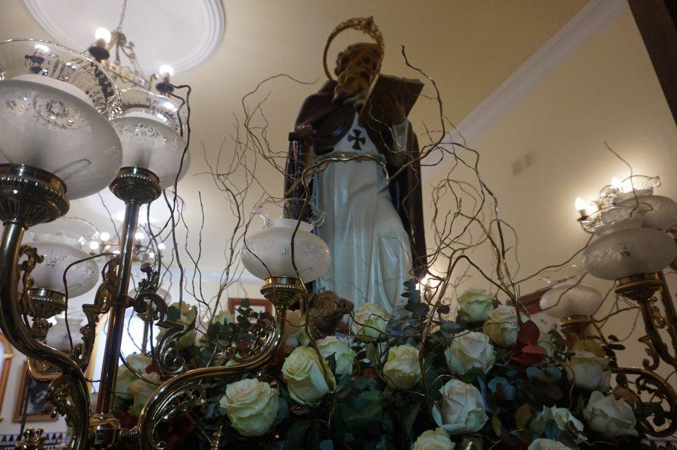 Elda vive la festividad de San Antón