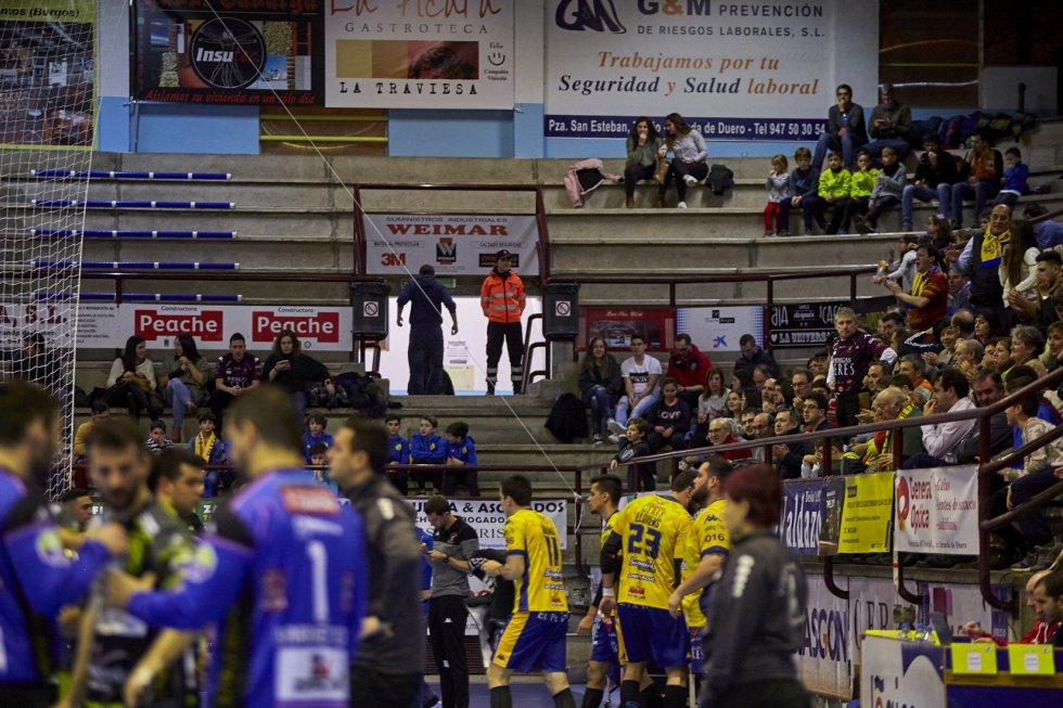 Las imágenes de la victoria del Villa de Aranda ante Zamora en el derbi regional en el Príncipe de Asturias.