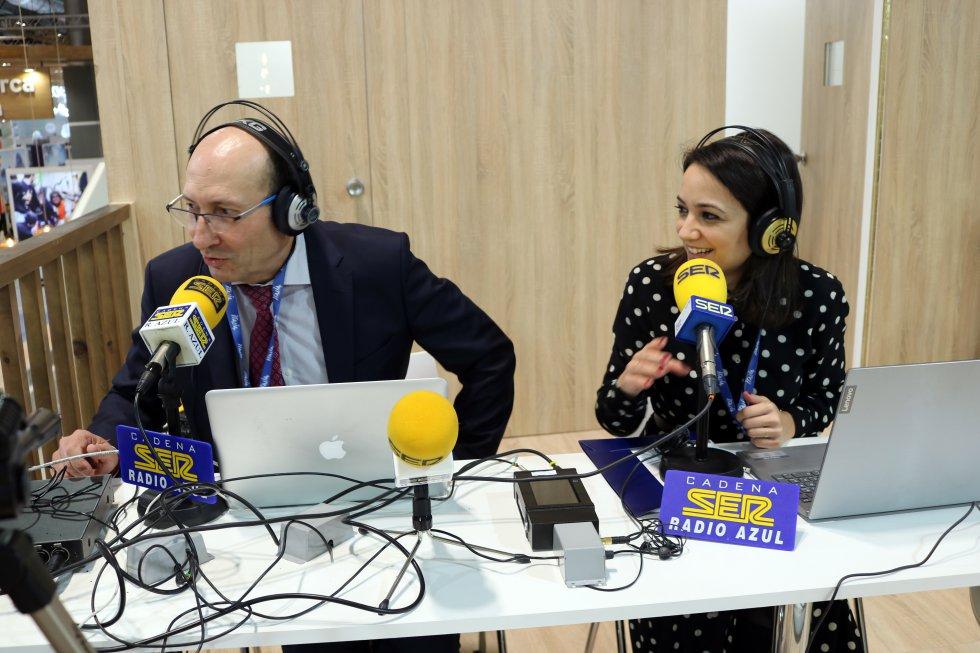 Radio Azul SER, presente en la primera jornada de Fitur -Fotogalería-