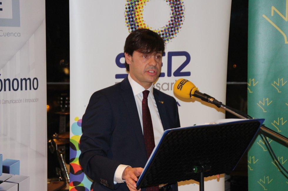 El director territorial de Eurocaja Rural, José Manuel Poyatos, que patrocina el programa SER Empresarios