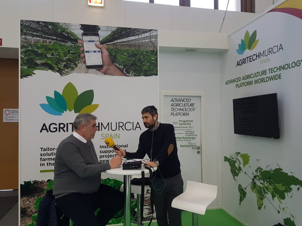 Santiago Mira, de Agritech Murcia