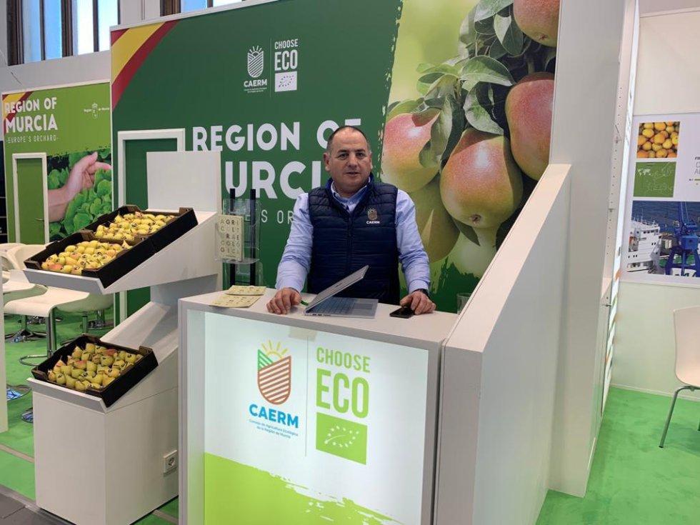 Pedro José Pérez Saura, director técnico del Consejo Regulador de Agricultura Ecológica de la Región de Murcia