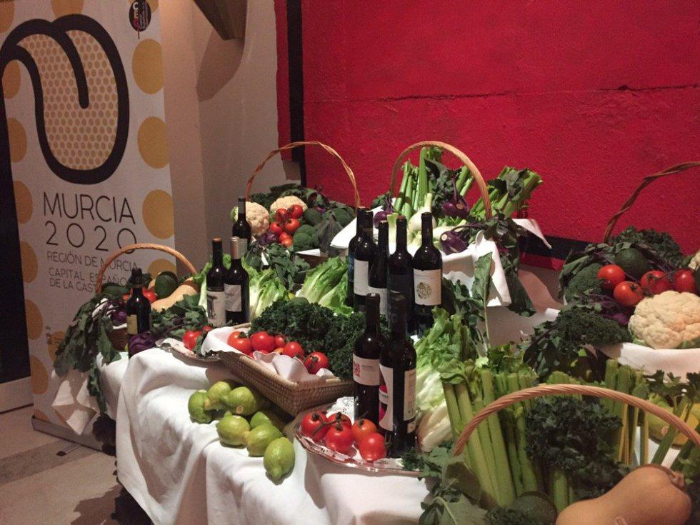 Los productos murcianos protagonizaron la recepción en la Embajada de España en Berlín