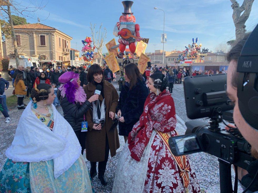 Una comitiva encabezada por la alcaldesa de Gandia, Diana Morant, se desplazaba a Fano para cerrar este acto protocolario de hermanamiento entre las 2 ciudades
