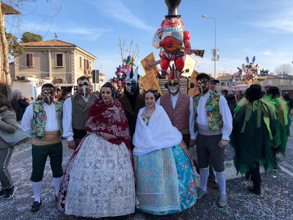 """Con la presencia de las fallas, ambas ciudades dan continuidad a la colaboración mutua a través de un proyecto europeo llamado """"Carnaval Project"""", desarrollado por la Universitat Politècnica de València"""