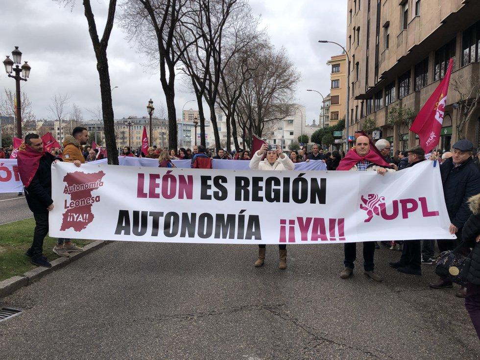 UPL ha reivindicado la autonomía para León
