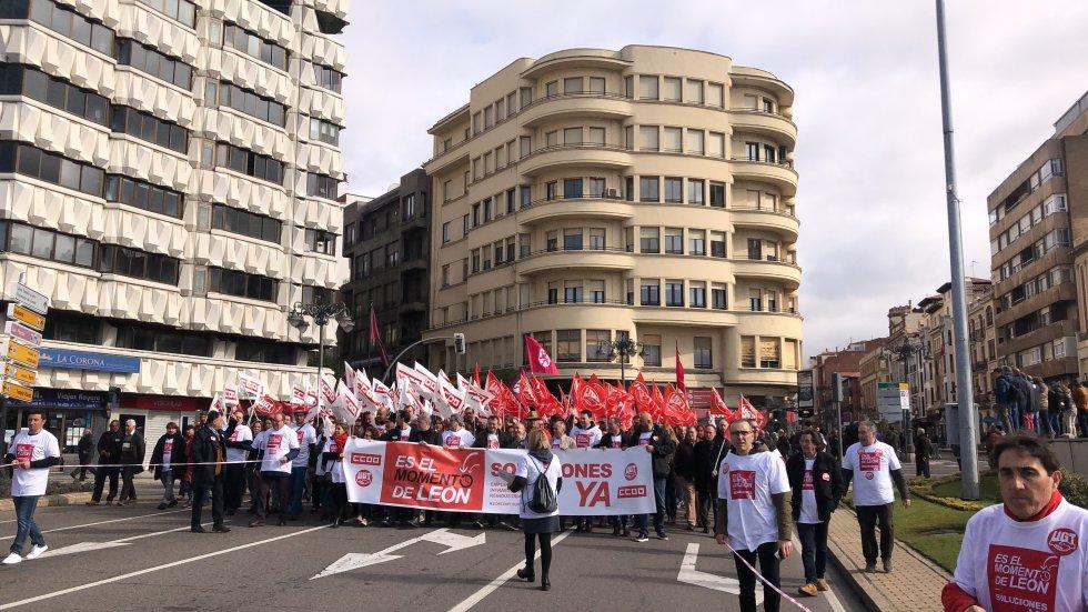 Las fuentes oficiales fijan la asistencia de las manifestaciones en 47.000 personas