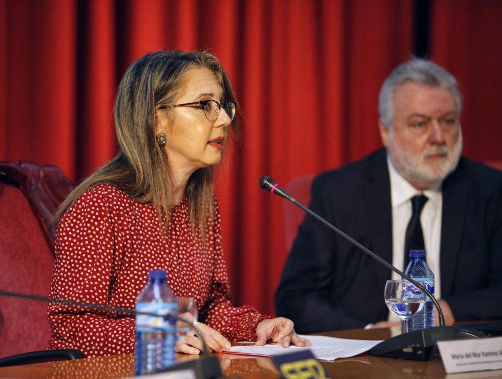 María del Mar Ramírez Alvarado, decana de la Facultad de Comunicación de la Universidad de Sevilla