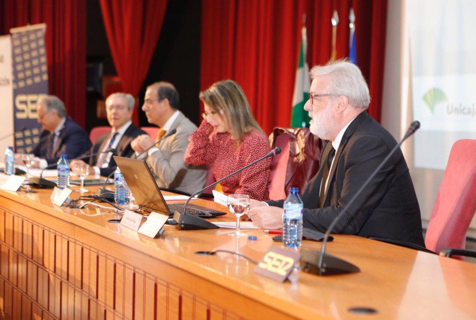 Mesa inaugural de las XII Jornadas de Comunicación de la Cadena SER Andalucía