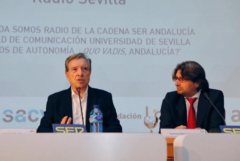 Iñaki Gabilondo, durante su intervención
