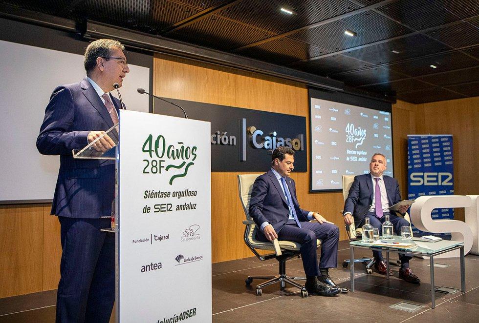 Moreno inaugura el ciclo #Andalucía40SER
