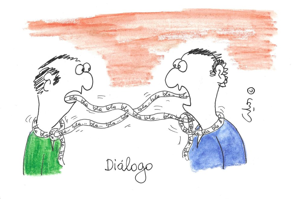 La viñeta de Villanueva, diálogo