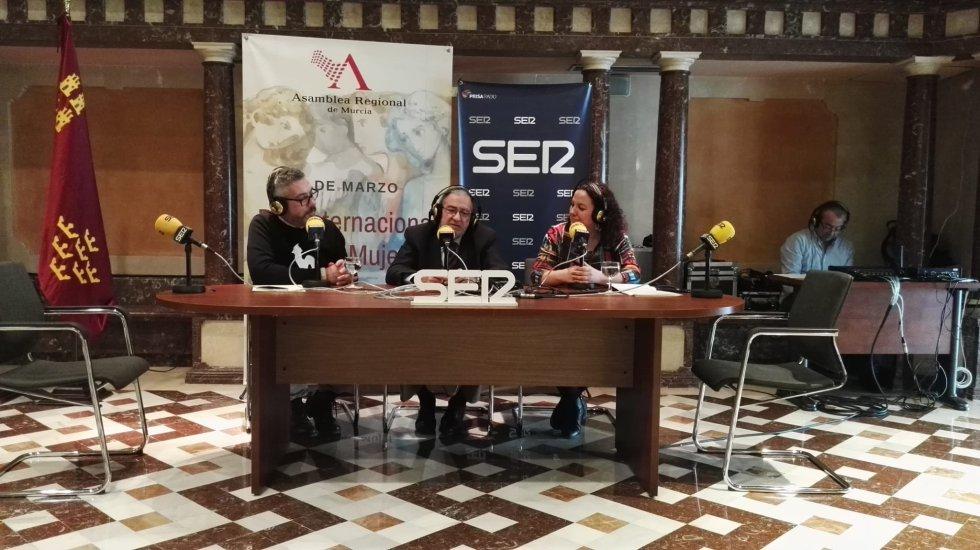 Paco Sánchez y Maica Sánchez entrevistan a Alberto Castillo