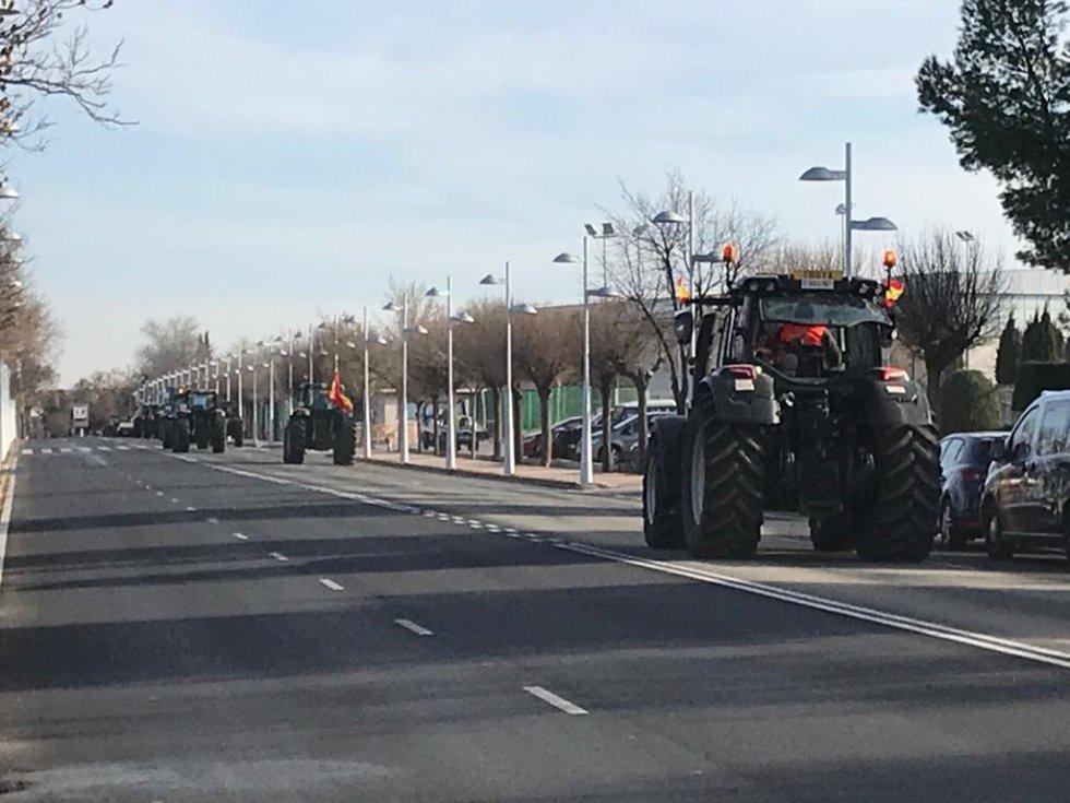 """El campo """"paraliza"""" la provincia de Ciudad Real"""