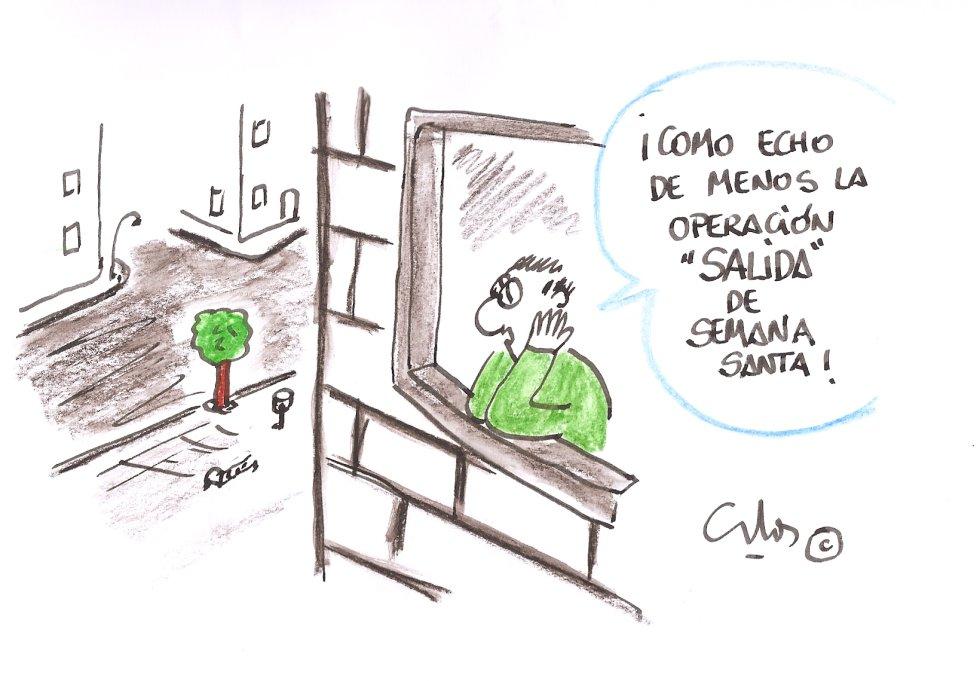 La viñeta de Villanueva, Operación salida.