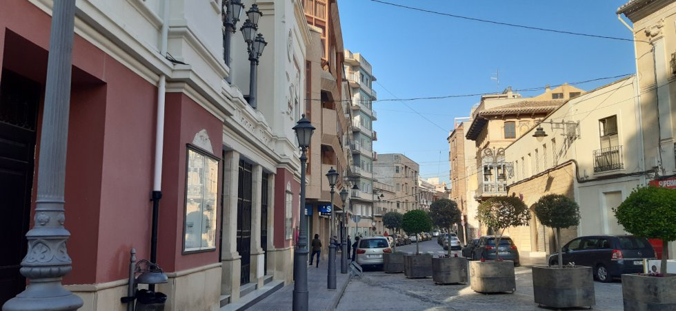 Calle Cánovas del Castillo (Jumilla)