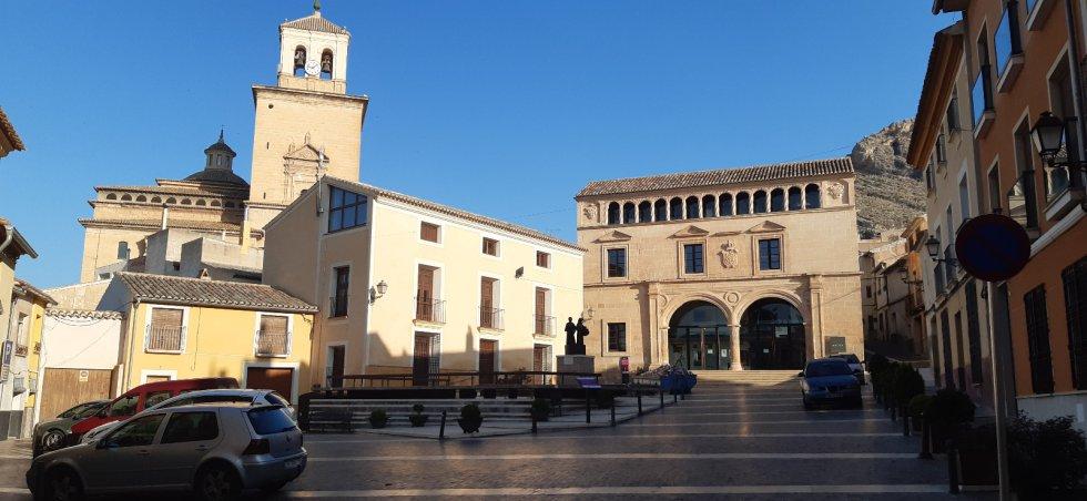 Plaza de Arriba (Jumilla)