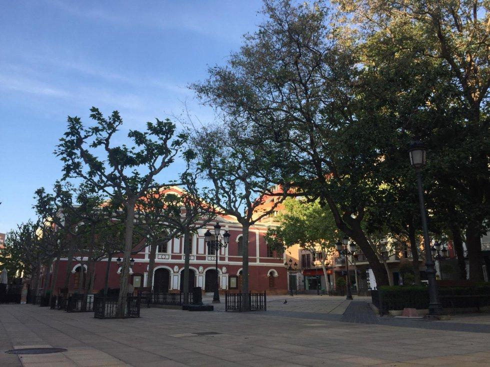 Plaza Calderón de la Barca (Lorca)