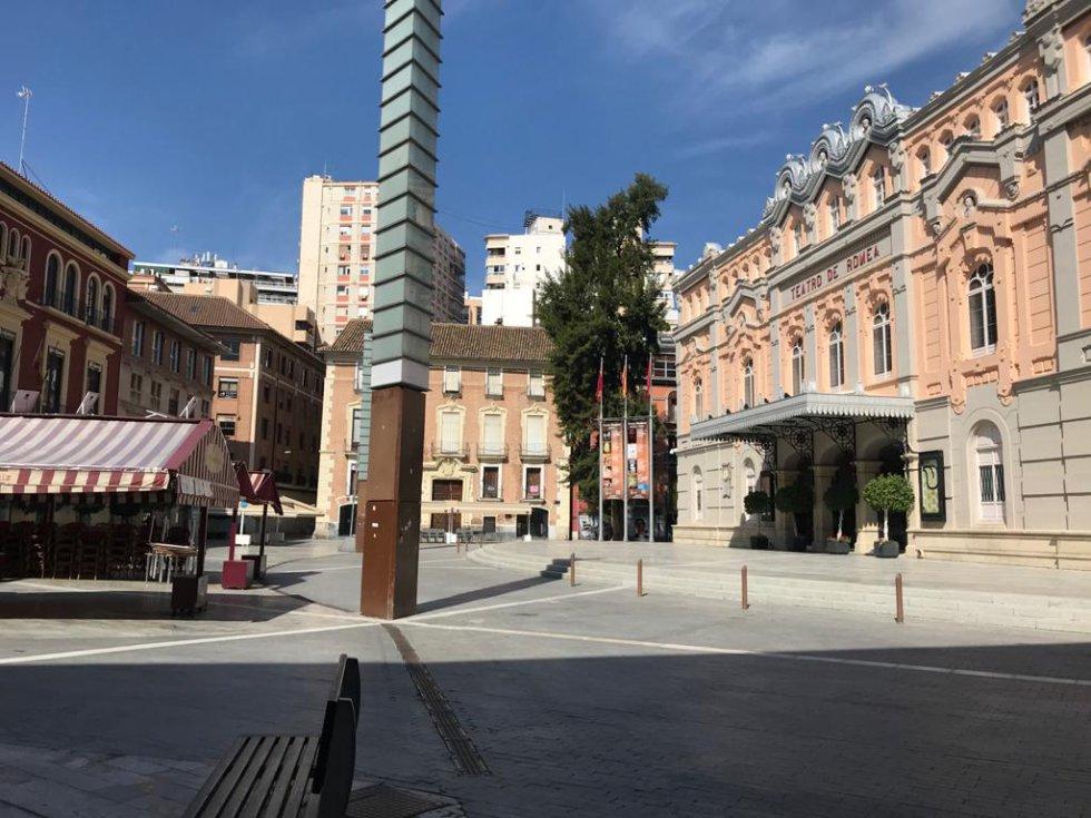 Plaza Julián Romea (Murcia)