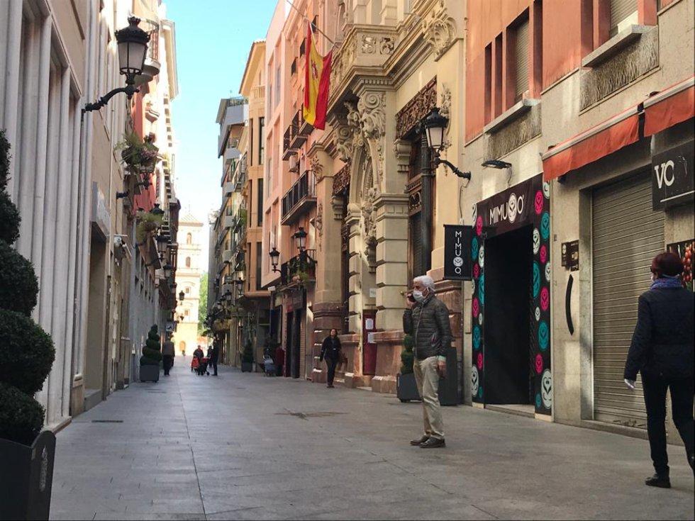 Calle Trapería (Murcia)