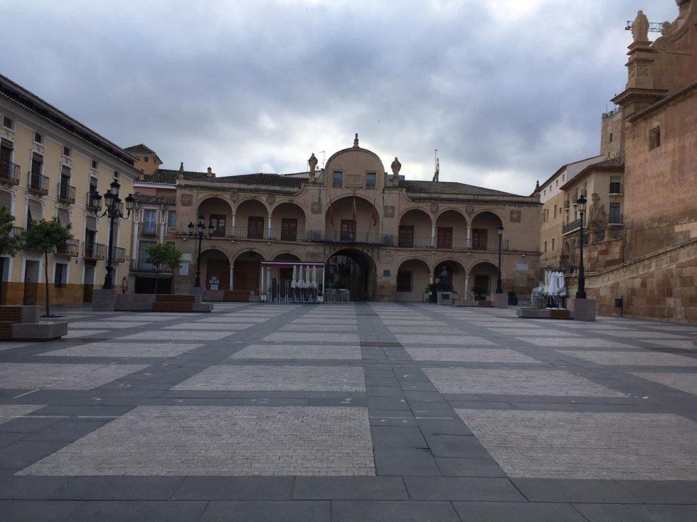 Plaza del Ayuntamiento de Lorca