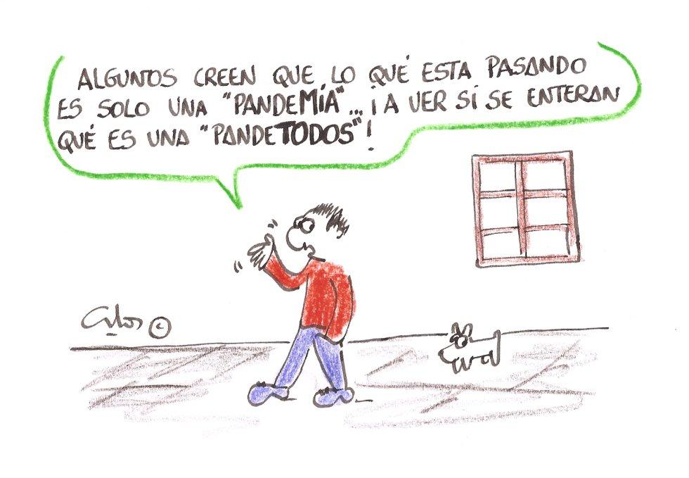 La viñeta de Villanueva, pandemia, pandetodos.