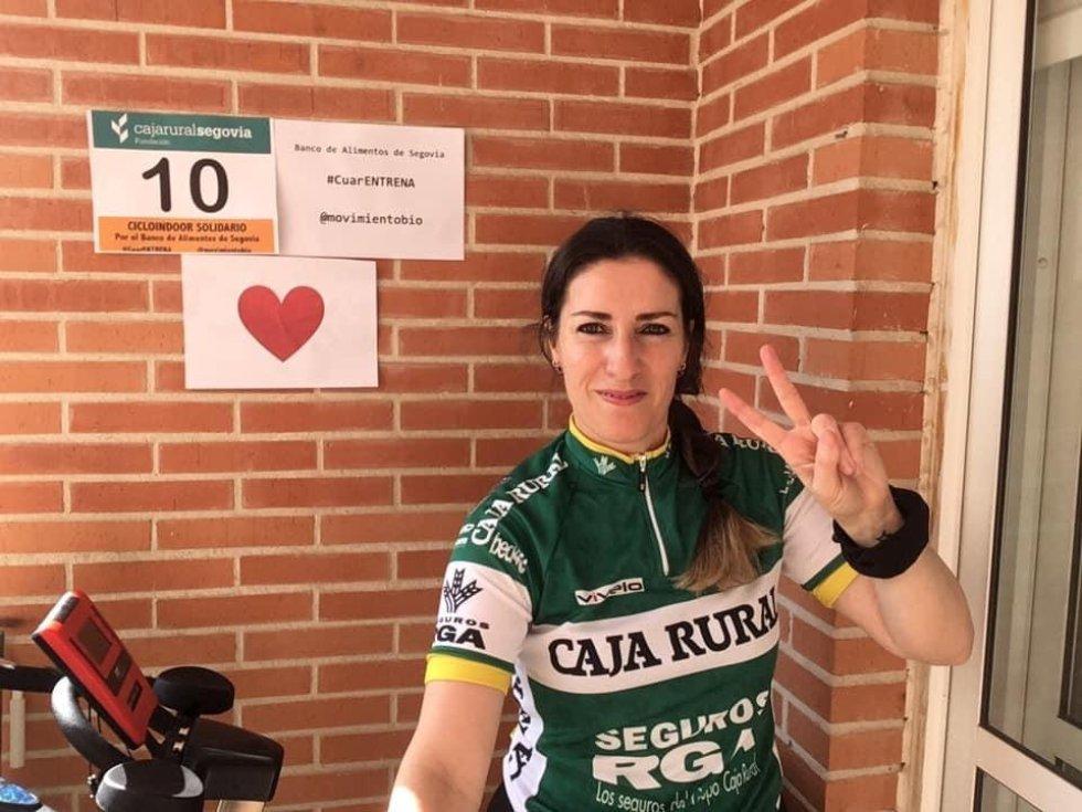 I ciclo indoor solidario Caja Rural a favor del Banco de Alimentos