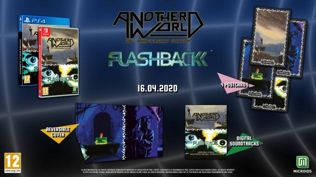 Another World y Flashback, aventuras retro en un pack