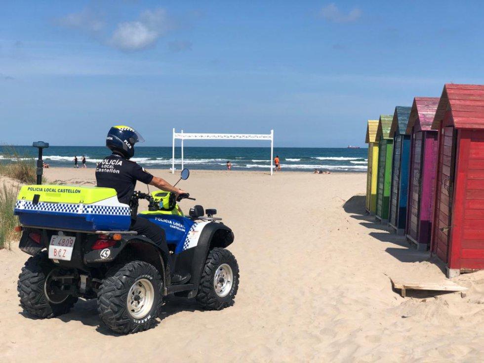 Los castellonenses vuelven a las playas