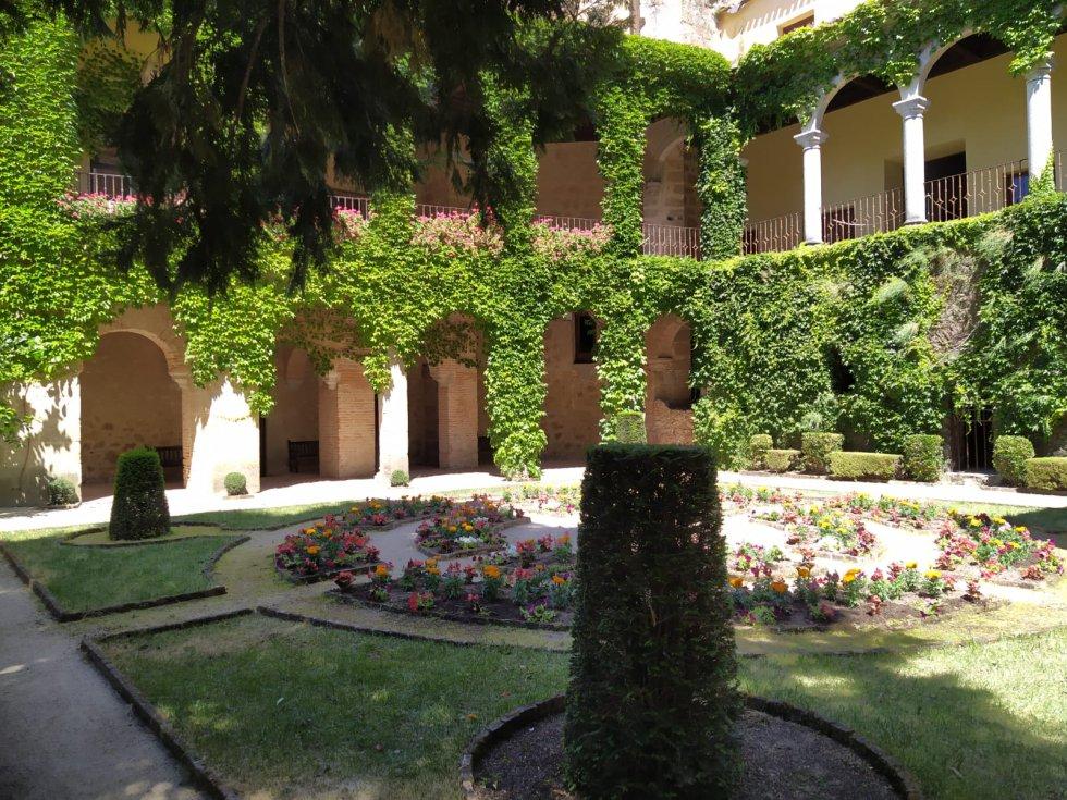 Pensil italiano  en el Real Monasterio Jerónimo de Yuste