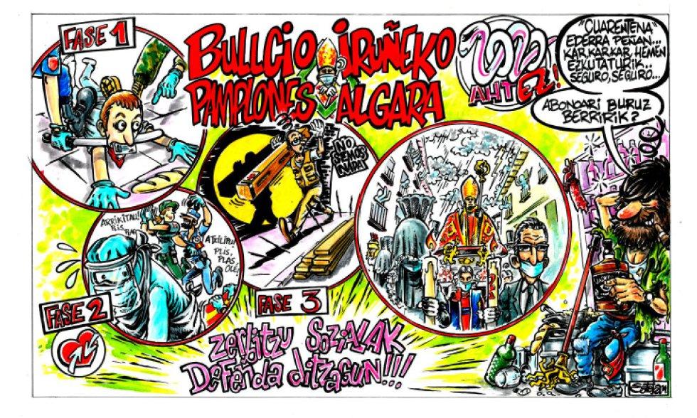 Bullicio pamplonés