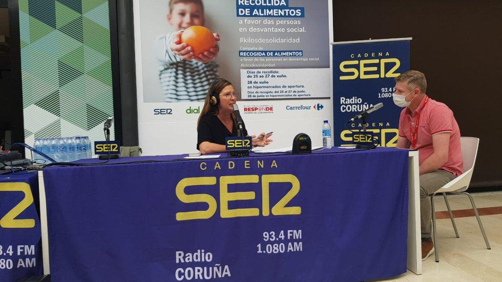 Maite González en Hoy por Hoy Coruña desde Carrefour
