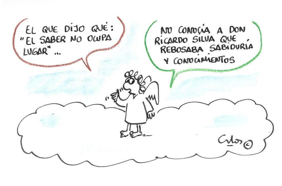 La viñeta de Villanueva, Don Ricardo Silva