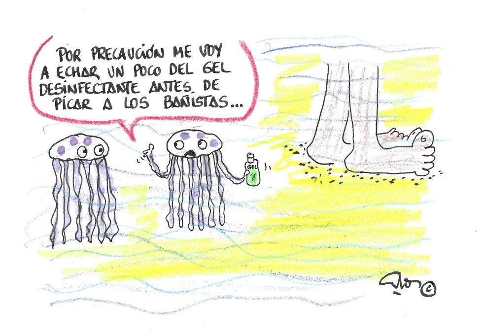 La viñeta de Vuillanueva. medusas
