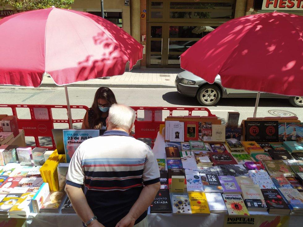 Imagen del Día del Libro en Albacete