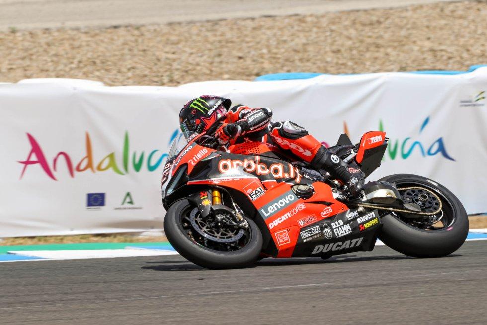 Imágenes Mundial del Superbike el domingo en Jerez