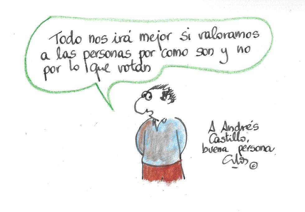 La Viñeta de Villanueva, Andrés Castillo.
